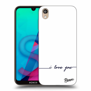 Obal pro Honor 8S - I love you