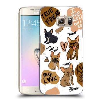 Obal pro Samsung Galaxy S7 Edge G935F - Frenchies