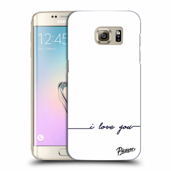Obal pro Samsung Galaxy S7 Edge G935F - I love you