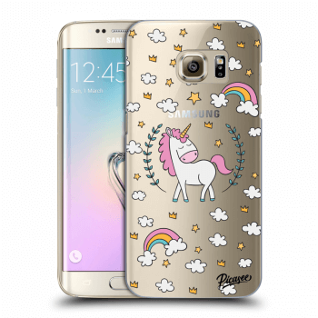 Obal pro Samsung Galaxy S7 Edge G935F - Unicorn star heaven