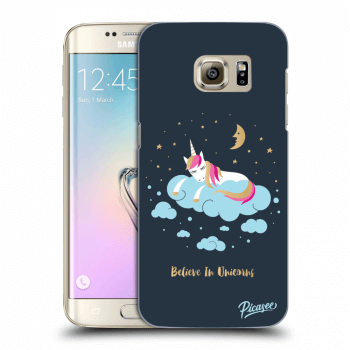 Obal pro Samsung Galaxy S7 Edge G935F - Believe In Unicorns