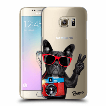 Obal pro Samsung Galaxy S7 Edge G935F - French Bulldog
