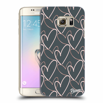 Obal pro Samsung Galaxy S7 Edge G935F - Lots of love