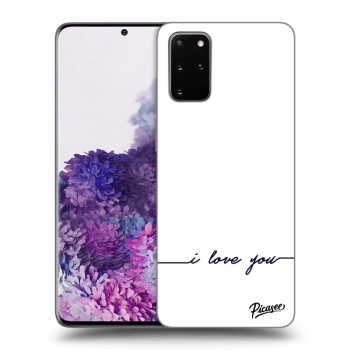 Obal pro Samsung Galaxy S20+ G985F - I love you