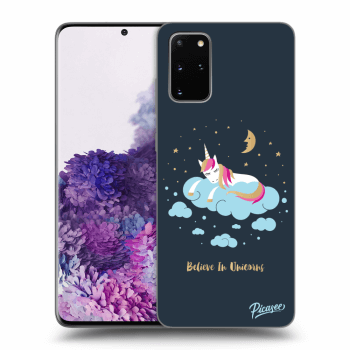 Obal pro Samsung Galaxy S20+ G985F - Believe In Unicorns