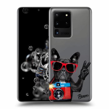 Obal pro Samsung Galaxy S20 Ultra G988F - French Bulldog