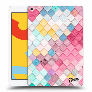 Obal pro Apple iPad 2019 (7. gen) - Colorful roof