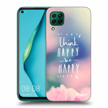 Obal pro Huawei P40 Lite - Think happy be happy
