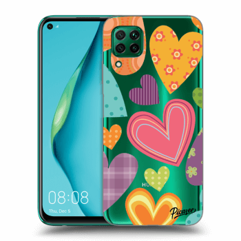 Obal pro Huawei P40 Lite - Colored heart
