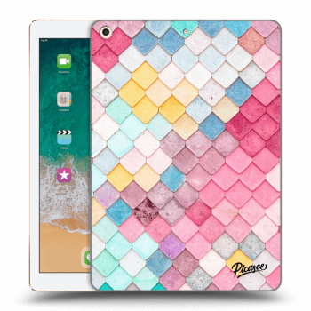 Obal pro Apple iPad 2017 (5. gen) - Colorful roof