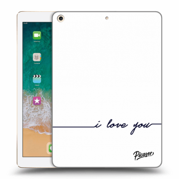 Obal pro Apple iPad 2017 (5. gen) - I love you