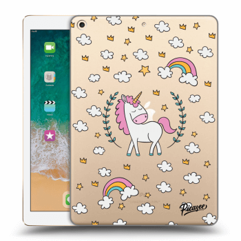 Obal pro Apple iPad 2017 (5. gen) - Unicorn star heaven