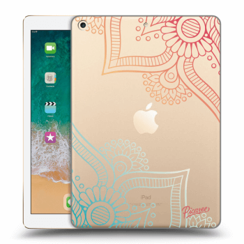 Obal pro Apple iPad 2017 (5. gen) - Flowers pattern