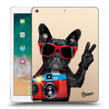Obal pro Apple iPad 2017 (5. gen) - French Bulldog