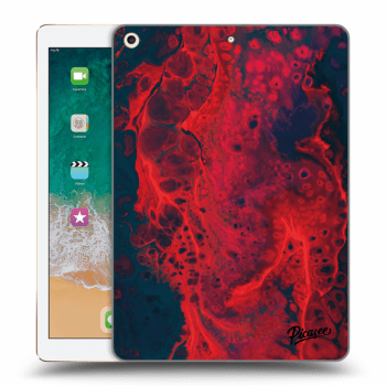 Obal pro Apple iPad 2017 (5. gen) - Organic red