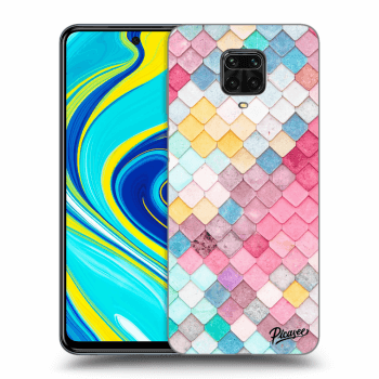 Obal pro Xiaomi Redmi Note 9 Pro - Colorful roof