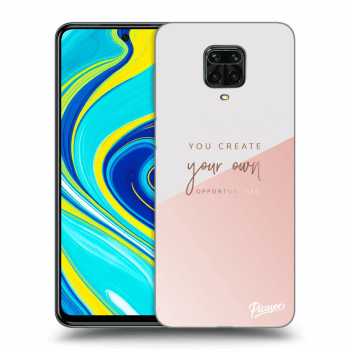 Obal pro Xiaomi Redmi Note 9 Pro - You create your own opportunities