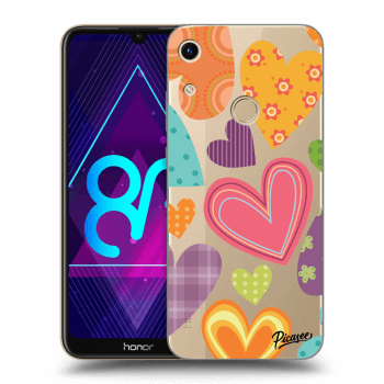 Obal pro Honor 8A - Colored heart