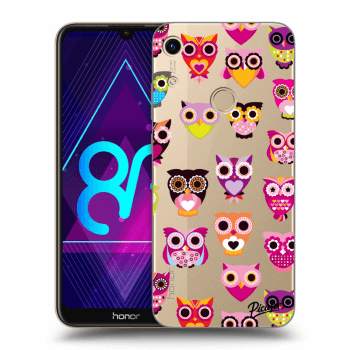 Obal pro Honor 8A - Owls