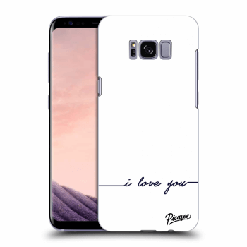 Obal pro Samsung Galaxy S8 G950F - I love you