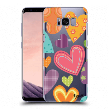 Obal pro Samsung Galaxy S8 G950F - Colored heart