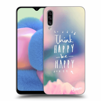 Obal pro Samsung Galaxy A30s A307F - Think happy be happy