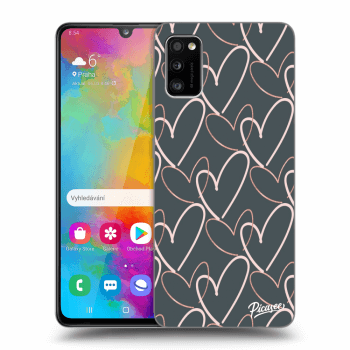 Obal pro Samsung Galaxy A41 A415F - Lots of love