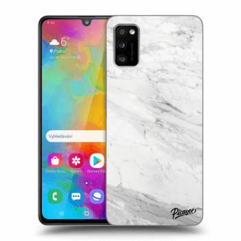 Obal pro Samsung Galaxy A41 A415F - White marble