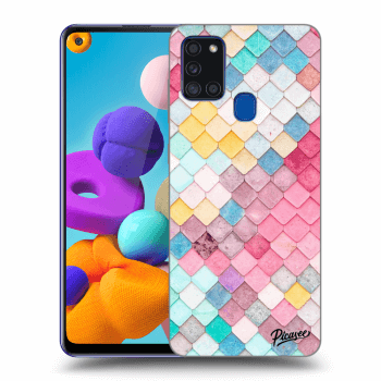 Obal pro Samsung Galaxy A21s - Colorful roof