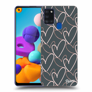 Obal pro Samsung Galaxy A21s - Lots of love
