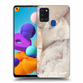 Obal pro Samsung Galaxy A21s - Cream marble