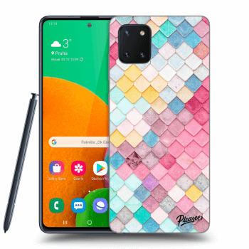 Obal pro Samsung Galaxy Note10 Lite N770F - Colorful roof