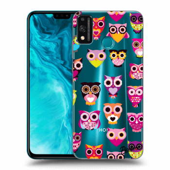 Obal pro Honor 9X Lite - Owls