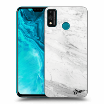Obal pro Honor 9X Lite - White marble