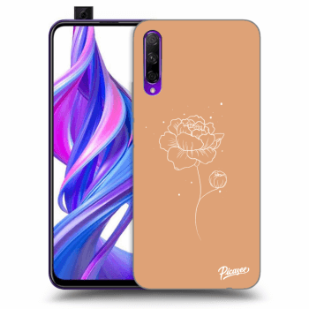 Obal pro Honor 9X Pro - Peonies