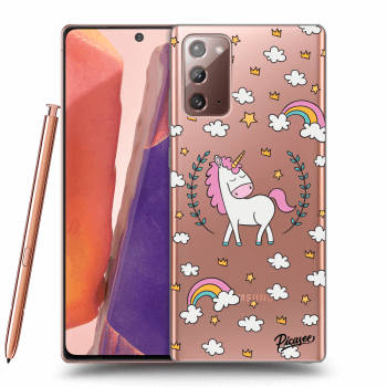 Obal pro Samsung Galaxy Note 20 - Unicorn star heaven