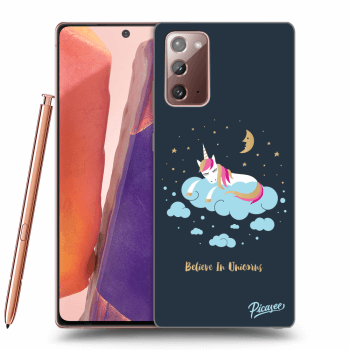 Obal pro Samsung Galaxy Note20 - Believe In Unicorns