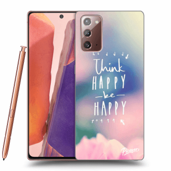 Obal pro Samsung Galaxy Note 20 - Think happy be happy
