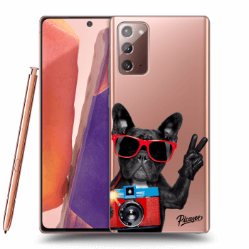 Obal pro Samsung Galaxy Note 20 - French Bulldog