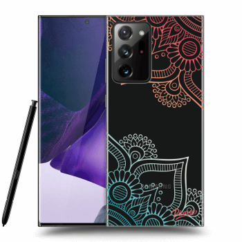 Obal pro Samsung Galaxy Note20 Ultra - Flowers pattern
