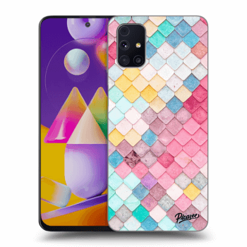 Obal pro Samsung Galaxy M31s - Colorful roof