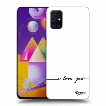 Obal pro Samsung Galaxy M31s - I love you