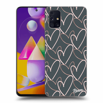 Obal pro Samsung Galaxy M31s - Lots of love