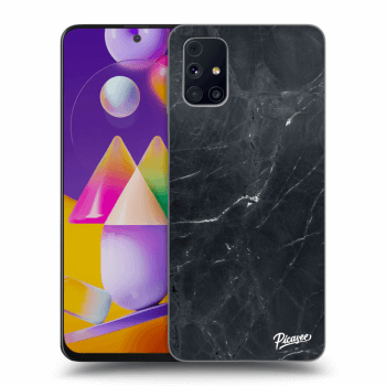 Obal pro Samsung Galaxy M31s - Black marble