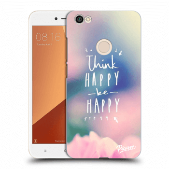 Obal pro Xiaomi Redmi Note 5A Prime - Think happy be happy