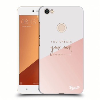 Obal pro Xiaomi Redmi Note 5A Prime - You create your own opportunities