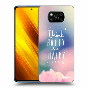 Obal pro Xiaomi Poco X3 - Think happy be happy