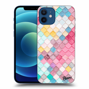 Obal pro Apple iPhone 12 - Colorful roof