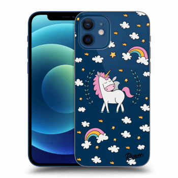 Obal pro Apple iPhone 12 - Unicorn star heaven