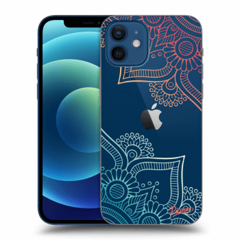 Obal pro Apple iPhone 12 - Flowers pattern